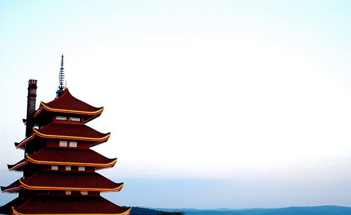 Reading Pagoda - Emily O'Donnell's Fine Art Photography