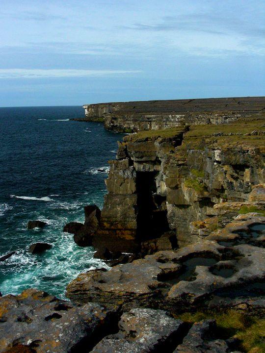 Irish Cliffs - Emily O'Donnell's Fine Art Photography