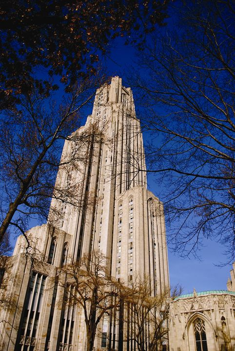 Cathedral of Learning 2 - Emily O'Donnell's Fine Art Photography