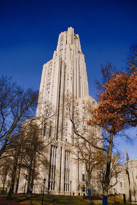 The Cathedral of Learning - Emily O'Donnell's Fine Art Photography