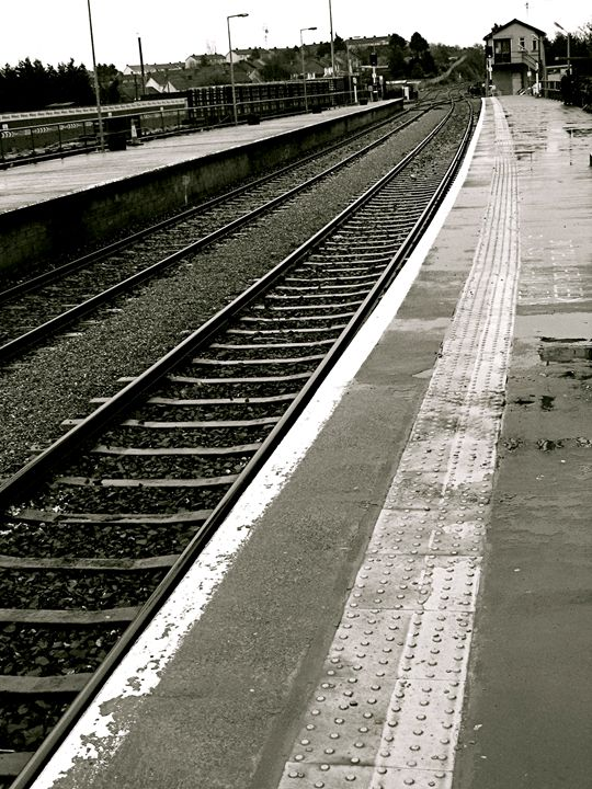 Irish Train Tracks - Emily O'Donnell's Fine Art Photography