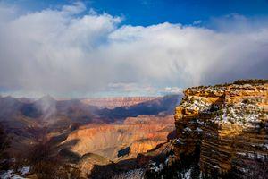 Foggy Grand Canyon
