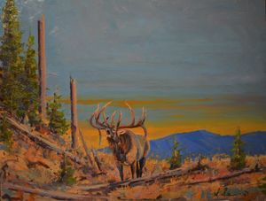 Echo Ridge - Scott Scherer Fine Art