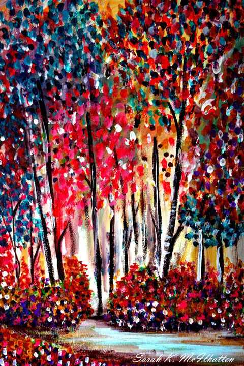 Birch - Hand Painted by Sarah