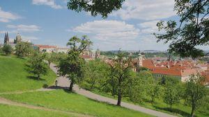 La Vista dalla Collina di Petřín