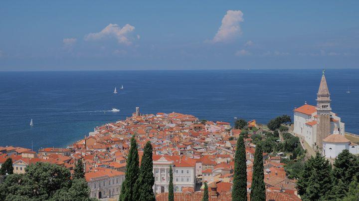 La Vista Panoramica di Pirano II - Glomes en Voyage