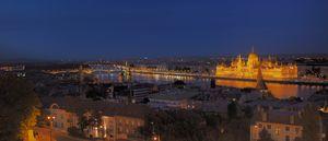 Nachtansicht von Budapest