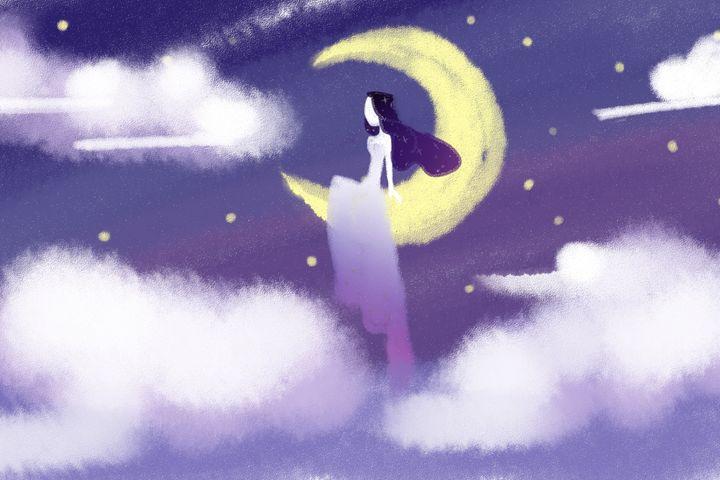 Lady of the Moon - Flamingoz