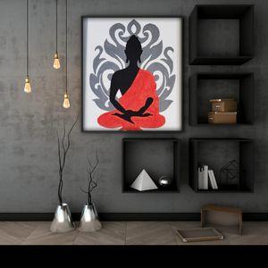 Buddha Meditation Painting