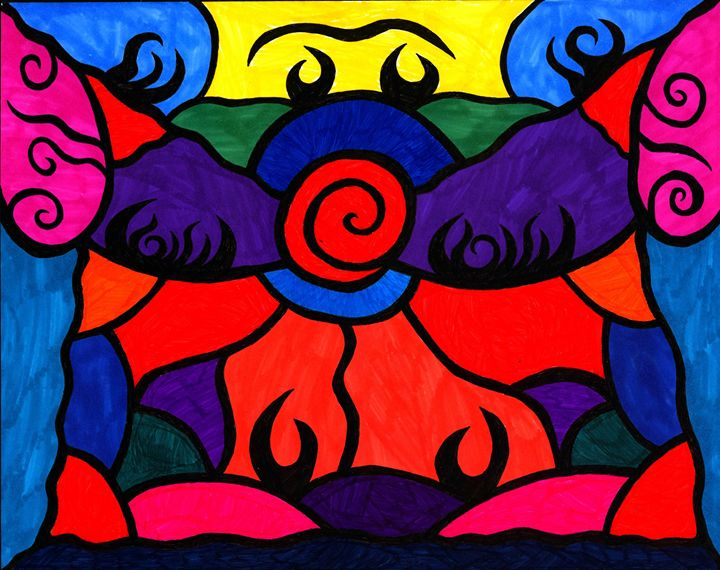 Stained Glass - Malik Edmonds