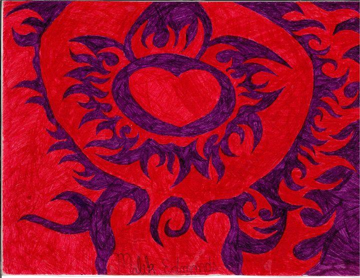 Purple Flames - Malik Edmonds