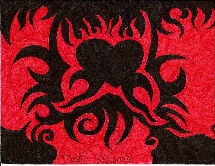 The heart of Fire - Malik Edmonds