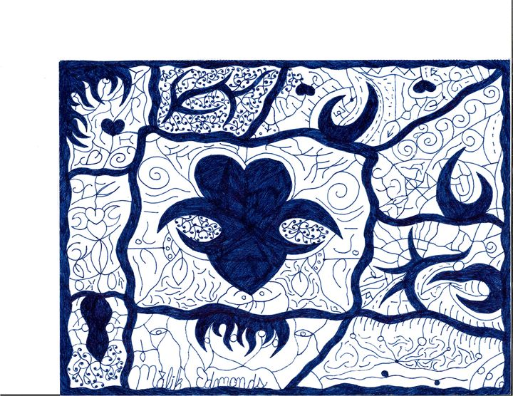 A Blue World - Malik Edmonds