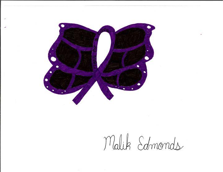 Lupus ribbon butterfly - Malik Edmonds
