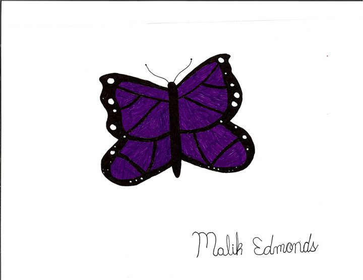 Purple Butterfly - Malik Edmonds