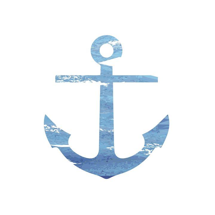 Blue Anchor - Erin Gardner