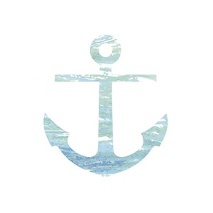 Light Blue Anchor