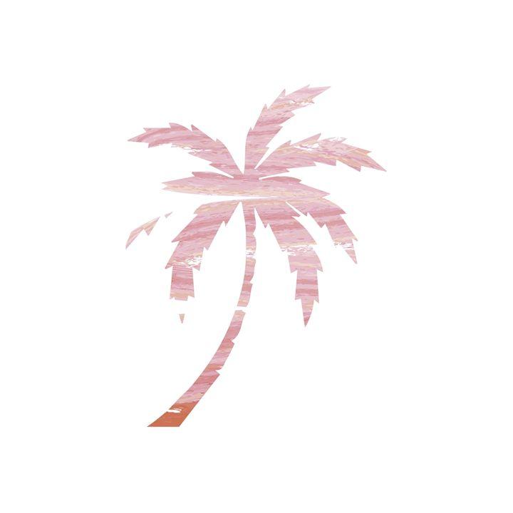 Pink Palm Tree - Erin Gardner