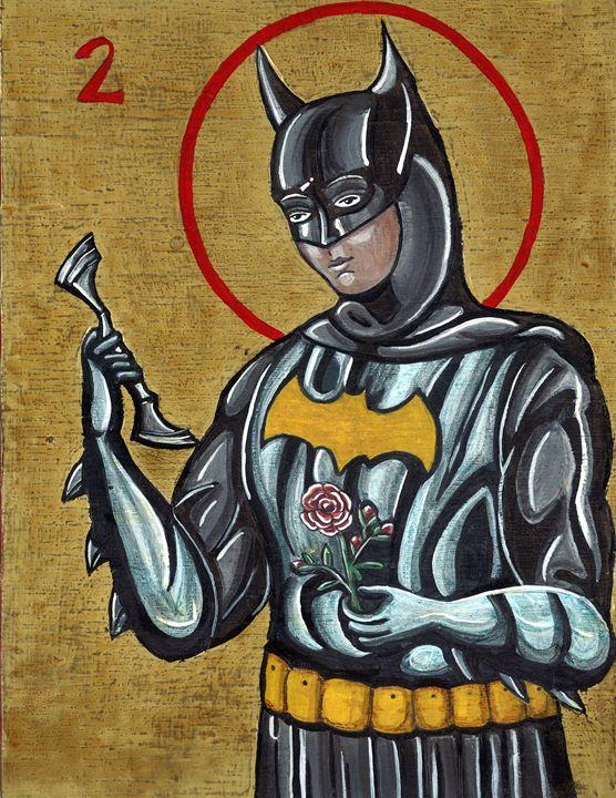 Batman after St. Rita of Cascia - Su Laing LLC