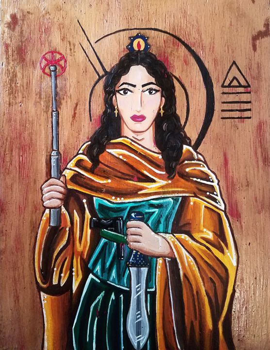Georgina, Patron Saint of Open Carry - Su Laing LLC