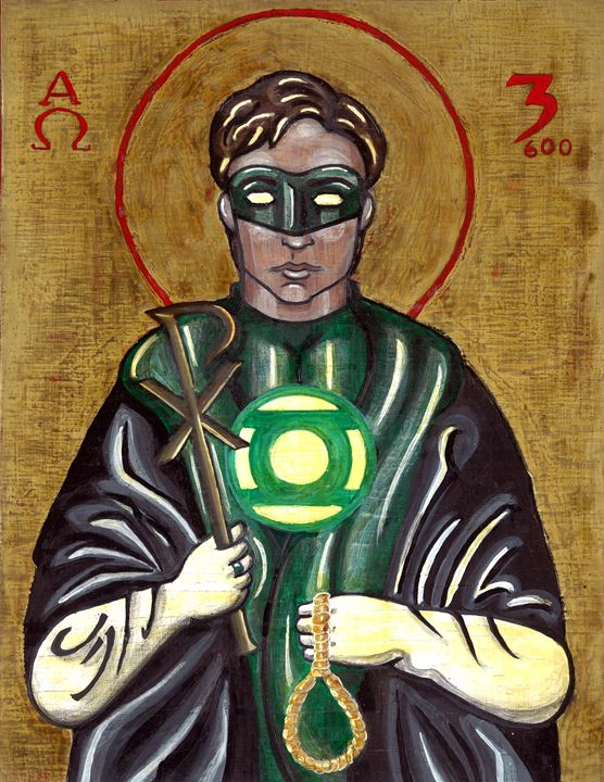 Green Lantern after St. Thoman More - Su Laing LLC