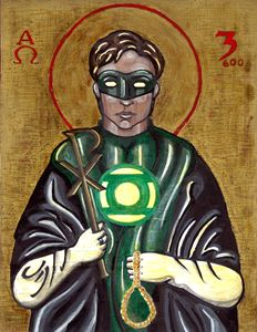 Green Lantern after St. Thoman More