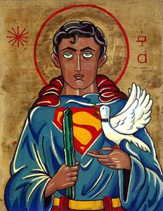 Superman after St. Francis of Assisi
