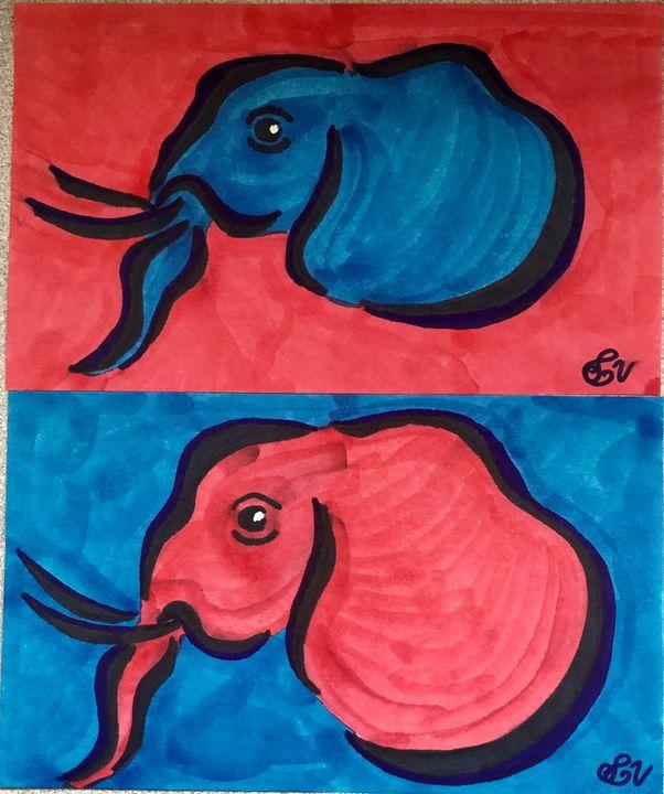 Elephants - Sarah Voss