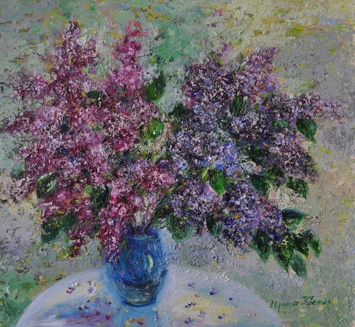 A bunch of lilac - Irina Kvetka