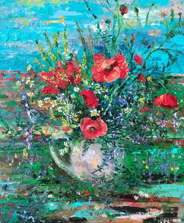 Summer Flowers - Irina Kvetka