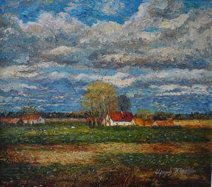 Netherlands village