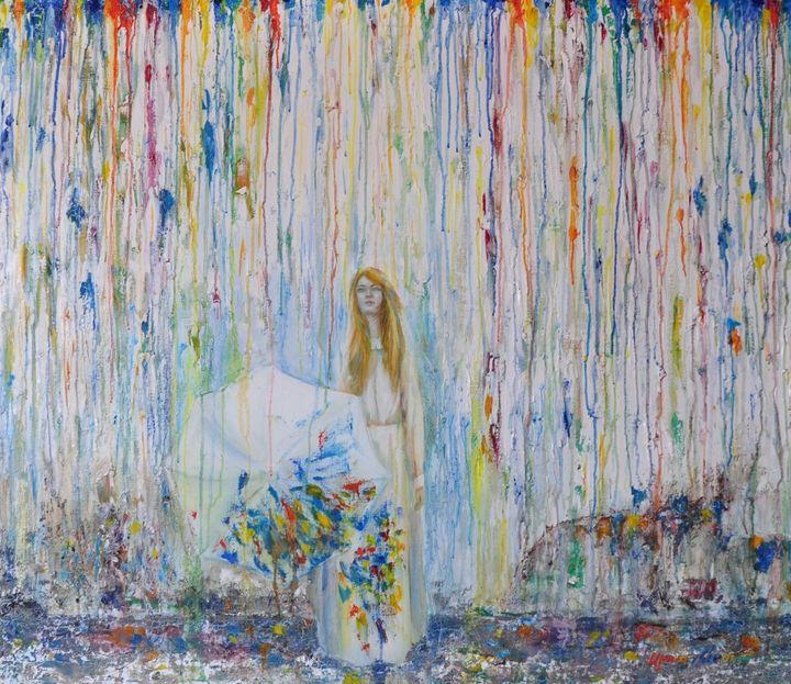 Colored rain - Irina Kvetka