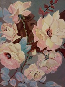 Flower Rose Pastels