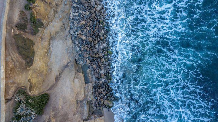 Sunrise in San Diego Beach - Ale Moraes Fine Art Photography