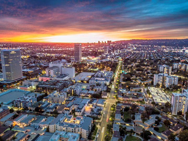 Los Angeles - Drone View - Ale Moraes Fine Art Photography