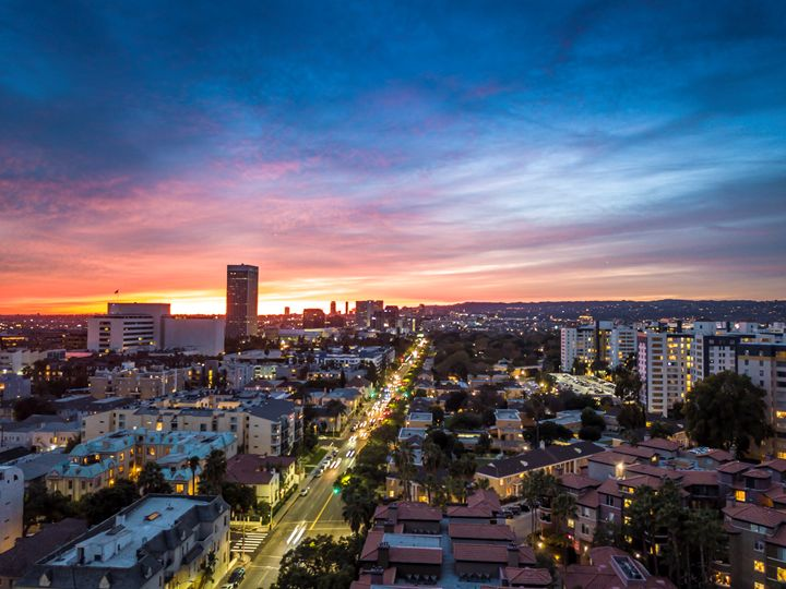 Los Angeles - Drone View - Ale Moraes Fine Art Photography