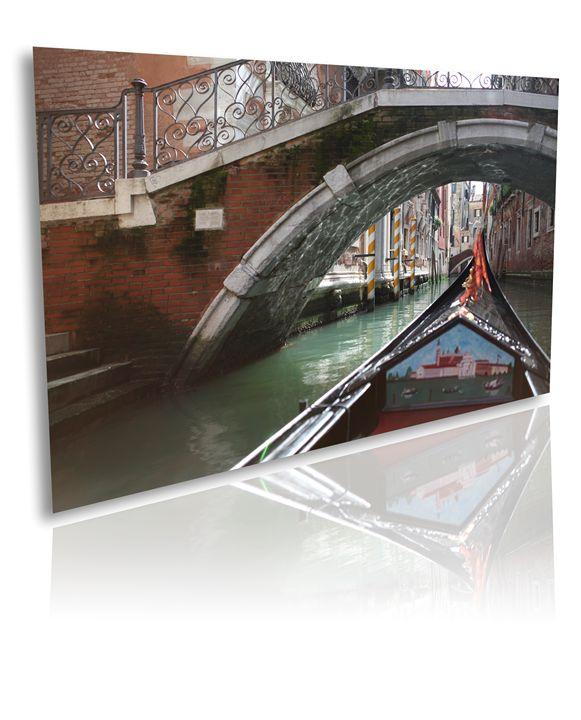 Canvas Art Wall Decor - Gondolas - Ale Moraes Fine Art Photography