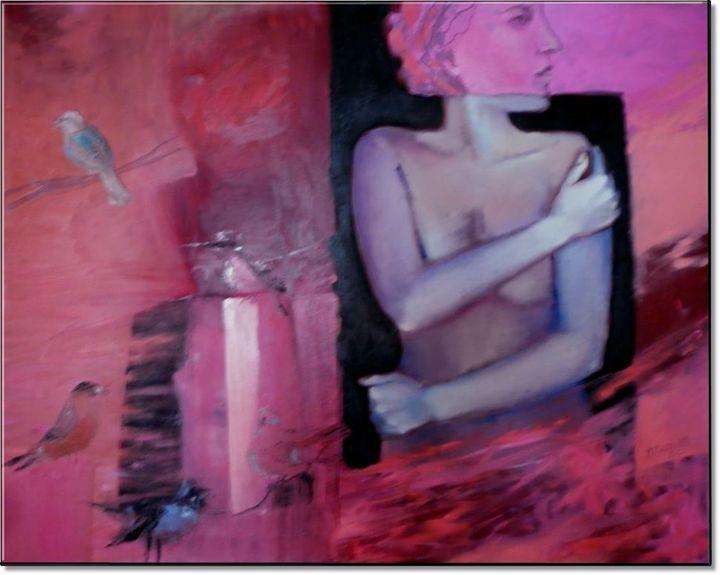 Nude with Birds, 2012 - Anna Zygmunt Art