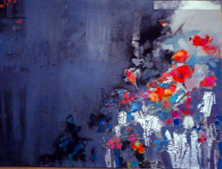 Misty Flowers - 2013 - Anna Zygmunt Art