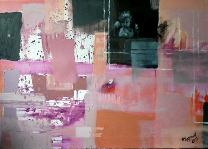 Nick Angel. Year 2012, oil on canvas - Anna Zygmunt Art