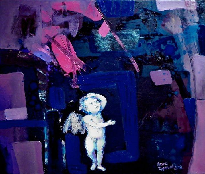 FORGIVENESS1 , oil canvas - Anna Zygmunt Art