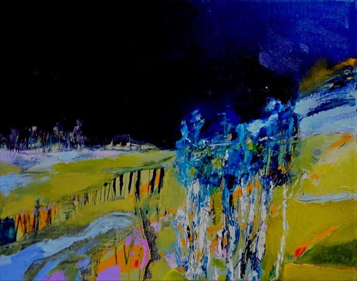 VILLAGE 1 , 2013,Oil on canvas - Anna Zygmunt Art