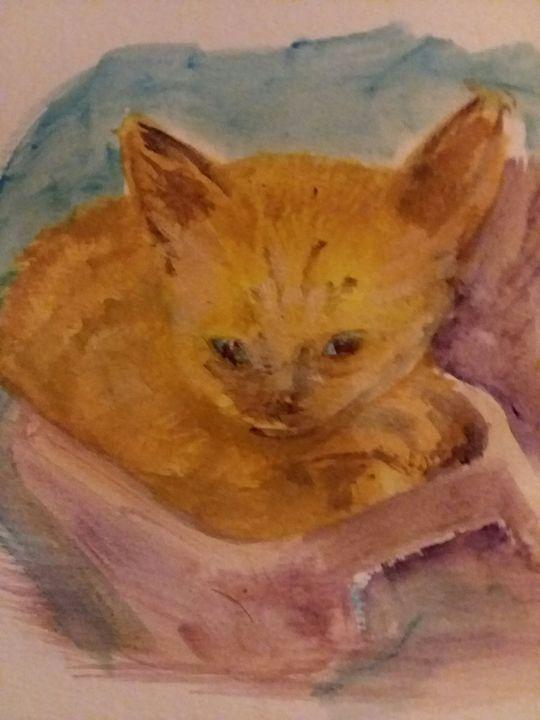 Kitty - Tom Howington ART