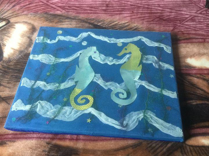 Seahorses - Trinity Art
