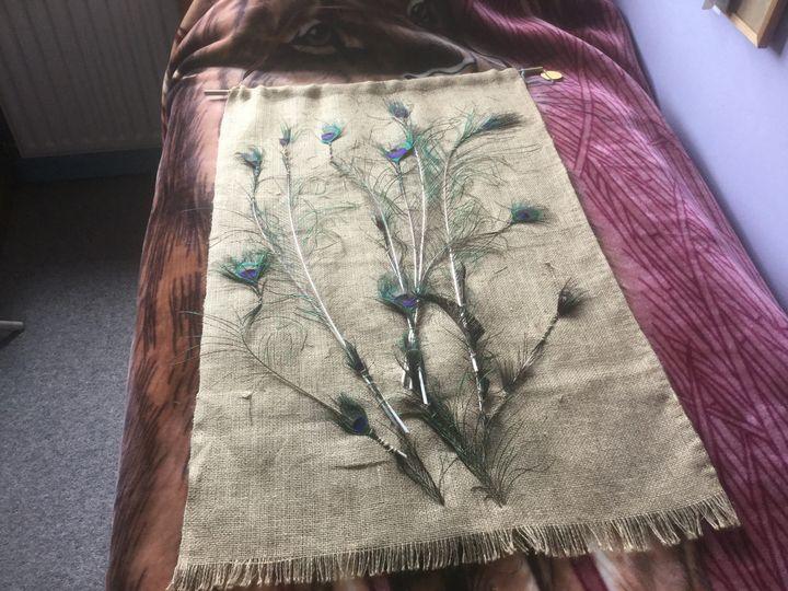 Peacock Feathers - Trinity Art