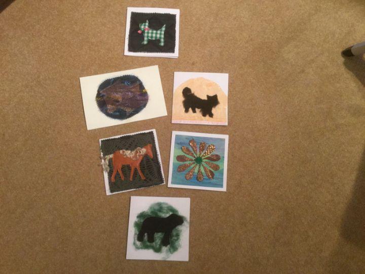 Blank cards - Trinity Art