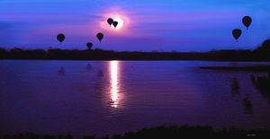 Balloons at Lake Shawnee