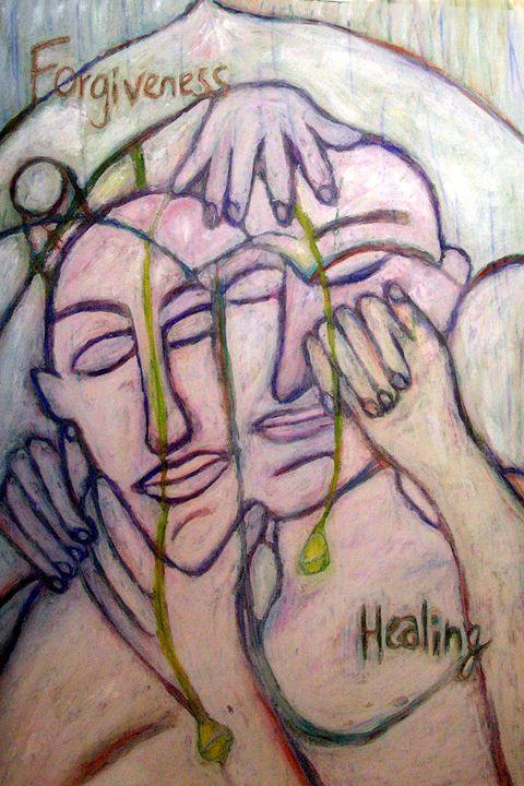 Forgiveness/Healing - StephenMeadArt