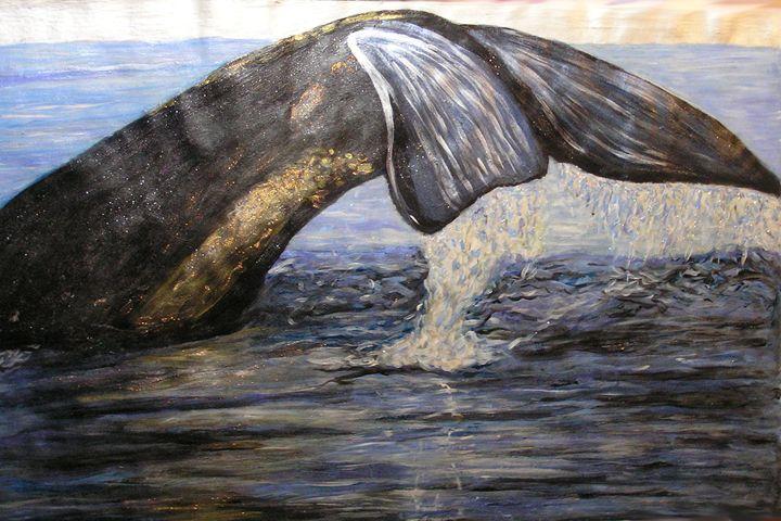 Whale - StephenMeadArt
