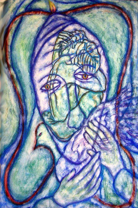 Heart like Mary's - StephenMeadArt